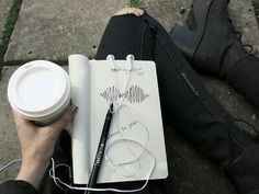 am doodles and coffee x black is the only color x
