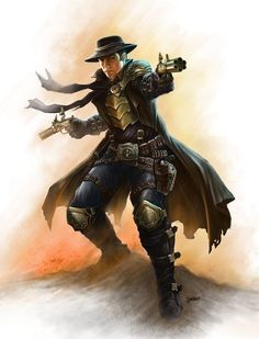 "Which is with a caveat that it has to fit whatever campaign we are playing. If guns or ""mage powder"" exist in the setting, you can use it. So no gunslingers running around Toril. That s…"