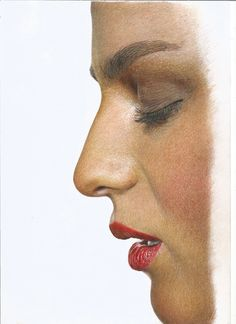 Hiper realismo a Lapis de Cor Koh-i-noor Polycolor. Hyperrealism with Polycolor Koh-i-noor pencils over Canson Layout.
