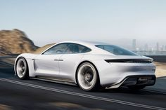 Porsche Mission E - Concept Car
