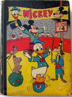 Album de jaargang, 11 April 1952 t/m 3 okt 52 - Toys auction - Sell or buy toys in the Catawiki auction. Walt Disney, Disney Mickey, Mickey Mouse, Disney Wishes, Disney Collectibles, Buy Toys, Mickey And Friends, Vintage Comics, Comic Book Characters