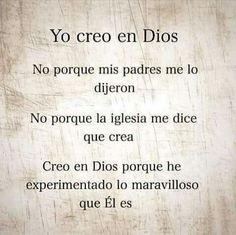 Creo en Dios