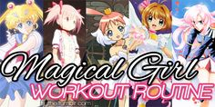 GoBoiano - Are You Mahou Shoujo Enough To Complete The Magical Girl Workout
