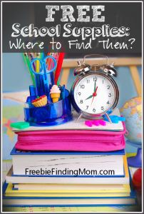 Where to Find Free School Supplies - from FreebieFindingMom.com! #backtoschool #kids #Free