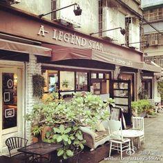 Coffee shop in Taiwan