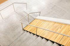 signage on floor :: flooring :: staircase :: Inside Adobes New Utah Campus