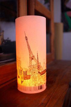 Illuminated Paper Bags lighting