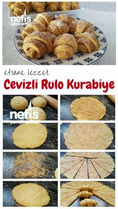 Cevizli Tarçınlı Rulo kurabiye Tarifi nasıl yapılır? 7.918 kişinin defterindeki bu tarifin resimli anlatımı ve deneyenlerin fotoğrafları burada. Yazar: °•arife •°/ 724mutfaktayim