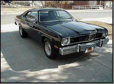 """My first """"Brand New"""" car, a 1975 Plymouth Duster"""