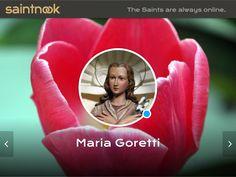 The Saints are Always Online St Maria Goretti, Avatar, Saints