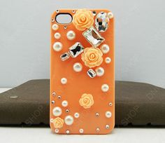 iphone 4 case flowers case pink flowers Pearl case by dnnayding, $19.99