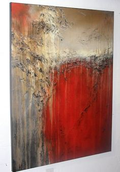 Amazon.com: Modern Abstract Canvas Painting XL 48 X 36 X 1.5, Limited Edition Hand Embellished, Textured Giclee on Canvas. SAVAGE DESIRE - ELOISExxx: Oil Paintings: Posters & Prints