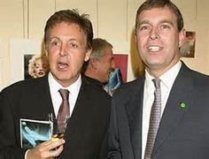 31-Sir Paul McCartney of the Beatles and HRH Prince Andrew
