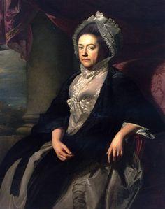The Athenaeum - Mrs. Isaac Royall (Elizabeth Mackintosh) (John Singleton Copley - )