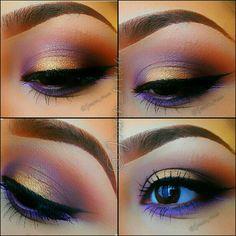 Purple/golden