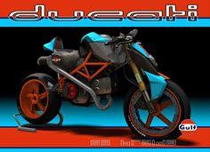 Racing Cafè: Design Corner - Ducati S2-Braida by Paolo Tesio