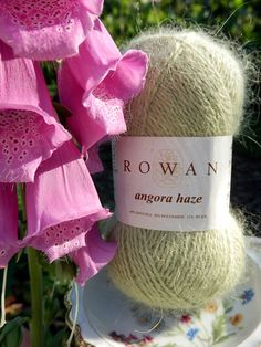 NEW ROWAN YARN Autumn/Winter 2013: Angora Haze. 69% Angora, 20% Nylon, 11% wool.  Photo credit Maria Niedermayer