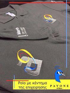 Polo μπλουζάκια 100% cotton, με κέντημα στο μανίκι και στο στήθος το logo της επιχείρησης.
