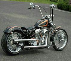 Custom. Harley Davidson Ape Hanger