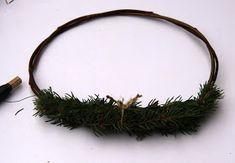 Suvikumpu: HAVUSYDÄN JA -KRANSSI - ohje Diy Wreath, Christmas Wreaths, Decor, Crown Flower, Decoration, Wreaths Crafts, Decorating, Diy Garland, Deco