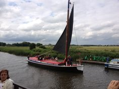 Wherry on the Norfolk Broads