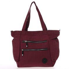 Nové kvalitní látkové tašky pro ženy, značky New Rebels budete využívat každý den. Momentálně Vám představujeme středně velkou červenou tašku Brielle, která je do města, do školy nebo do práce pravou volbou. Gym Bag, Unisex, Bags, Fashion, Handbags, Moda, Fashion Styles, Fashion Illustrations, Bag