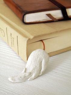 AugusTino Lesezeichen *LaborRatte*... von zeit-geister auf DaWanda.com