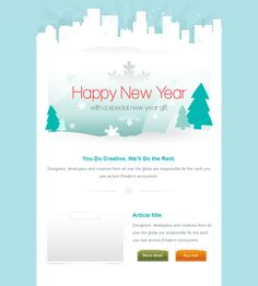 13 Best More Of The Best Christmas Holiday Email Templates Images