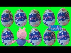Peppa Pig Milk Chocolate Egg Toy Surprise - YouTube