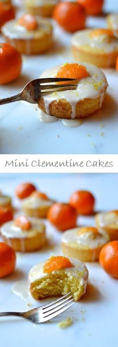 Mini Clementine Cakes Recipe by the Woks of Life