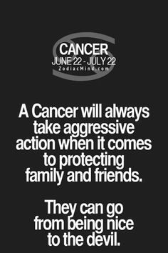 Zodiac Mind - Your source for Zodiac Facts Cancer Zodiac Facts, Cancer Traits, Cancer Horoscope, Cancer Quotes, Zodiac Funny, My Zodiac Sign, Zodiac Quotes, Leo Sign, Thoughts