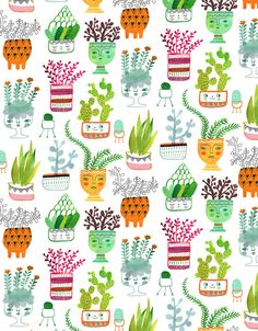 Plant Heads - Sarah Walsh