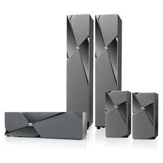 JBL Studio 180 5.0 Home Theater Speaker Package (Black) - Very Unique