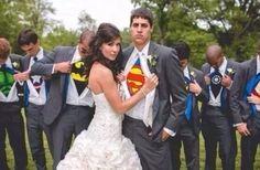 wedding super hero idea
