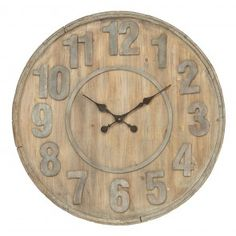 Devon Wall Clock, rustic