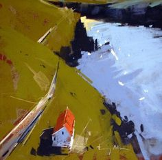 Tony Allain Prova per Nisi, vista alto. Abstract Landscape Painting, Landscape Art, Landscape Paintings, Landscapes, Chalk Pastels, Oil Pastels, Paintings I Love, Pastel Art, Klimt