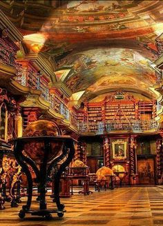 Strahov Library, Prague, Czech Republic , from Iryna