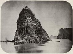 Yangtze river monastery, c 1860. Photographer most likely John Thomson.