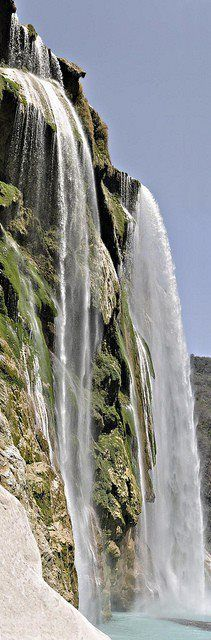 Tamul Waterfall in La Huasteca, Mexico