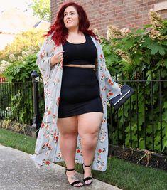 Plus Size Fashion for Women Plus Size Looks, Look Plus, Curvy Plus Size, Curvy Fashion Summer, Curvy Women Fashion, Plus Size Fashion For Women, Plus Size Women, Plus Fashion, Plus Size Dresses