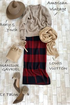 I love how cozy this looks and I'm a sucker for plaid. Cute Modest Outfits, Chic Outfits, Trendy Outfits, Fashion Outfits, Womens Fashion, Cold Weather Outfits, Fall Winter Outfits, Autumn Winter Fashion, Japanese Fashion