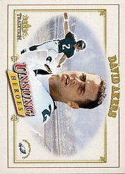 2001 Fleer Tradition #326 David Akers UH RC by Fleer Tradition. $0.39. 2001 Fleer Inc. trading card in near mint/mint condition, authenticated by Seller