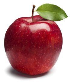 rode appel - om mee naar huis te geven