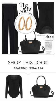 """Black Motion"" by lucky-1990 ❤ liked on Polyvore"