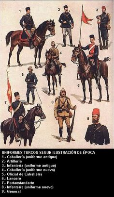 Uniformes turcos