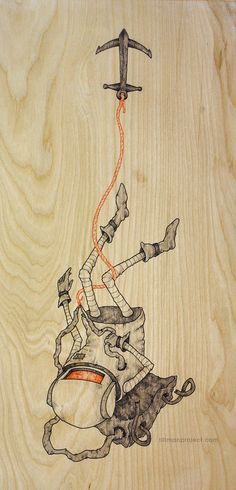 Birch Works by Clint Reid, via Behance
