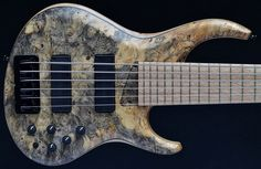 MTD 635, Buckeye Burl top five string bass: For sale, UK, On offer, Warwick Second Hand, used, preowned Bass Guitar Stock :: USA, EU