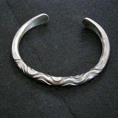 Iron jewelry Warrior mens Bracelet Torc Blacksmith by celtsmith, $35.00