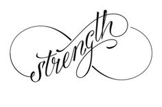 Strength Tattoo for Girls                                                                                                                                                     More