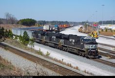 RailPictures.Net Photo: NS 7649 Norfolk Southern GE ES40DC at Austell, Georgia by Darrell Krueger